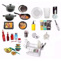 Set Vajilla Completo 100 Piezas - Platos Bateria De Cocina