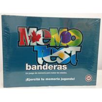 Memotest Banderas Ruibal Gran Juego De La Memoria Original