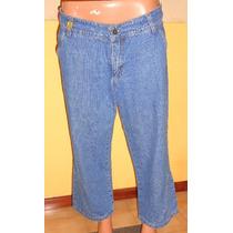 Chiarini Pantalon Capri De Jeans Talle 46