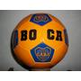 Pelota Boca River Fútbol Nº 5 Escudos Excelente