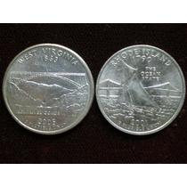Quarter Dollar ,gran Cantidad , De Todos Los Estados Unidos