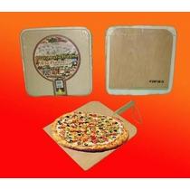 Combo Pizza Piedra Refractaria + Pala Madera Fara-belg.-s.is