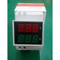 Voltímetro-amperímetro 300v