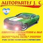 Kit Resortes Neumáticos Ford Explorer Capot/vent/port. 97/01