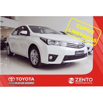 Toyota Corolla Xli - Xei Plan De Ahorro Sin Interes Zento