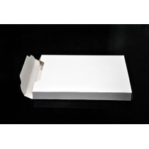100 Cajas De Cartulina Blancas 13 X 9 X 1,3 Cm