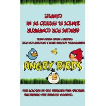 Envoltorios De Yapas Y Chocolatines Violetta, Angry Birds