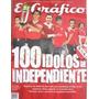 Revista El Grafico 100 Idolos De Independiente