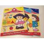 Fisher Price Little People. Libros De Aprendizaje En Ingles