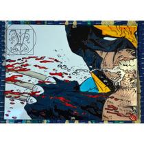 Cuadro Pintado A Mano Sobre Vidrio Wolverine