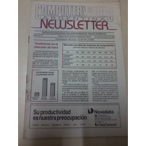 Revista Computerworld Argentina N 73 Junio 1990 Mercado Hard