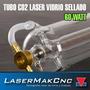Tubo Laser Co2 60w Pantografo Laser Corte Grabado 1200x55mm