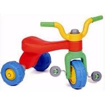 Triciclo Vegui Qrio Plastico Irromplible De 1 A 3 Años!