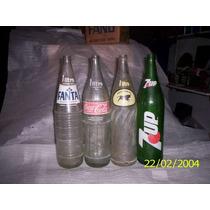 Lote 4 Botellas Gaseosas Antiguas 1 Litro