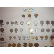 Coleccion 50 Monedas Argentinas 1944 -1990