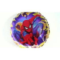 Globo Metalizado Spiderman X 10 Unidades - Hombre Araña