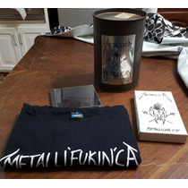 Metallica - Metallican Cd+vhs+shirt En Lata De Pintura Uk