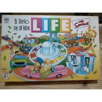 Life Simpsons.el Juego De La Vida.hasbro.como Nuevo.
