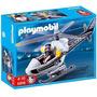 Playmobil 5916 Helicóptero De Policía +4 Años Zona Devoto