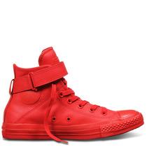 Botitas Chuck Taylor All Star Brea Mono Leather Roja T.35/43