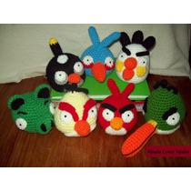 Angry Birds Colección Amigurumis Al Crochet