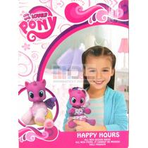Pequeño Pony Bebé Luz Sonidos Mamadera 20 Cm Mirá El Video
