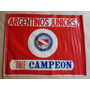 Antigua Bandera De Argentinos Juniors Campeon
