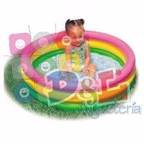 Pileta Con Piso Inflable Intex La Mejor Calidad Ideal Bebés