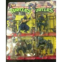 Tortugas Ninjas - Tmnt - Lote 4 Villanos