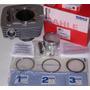 Kit Cilindro + Piston Honda Cbx / Nx / Xr 200 Brasil Mahle