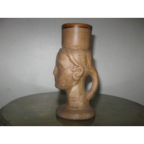 Hermoso Jarro Chico De Ceramica