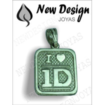 Hermoso Y Original Dije De One Direction En Plata Maciza
