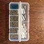 Caja Plastica Organizadora De Pesca + 100 Anzuelos Pejerrey