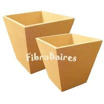 Macetas En Fibrofacil 10x10 Cm