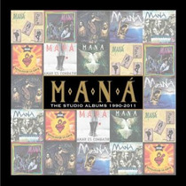 Mana - The Studio Albums 1990-2011 (box 8 Cd