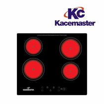 Anafe Vitroceramico Electrico 4 Horn Panel Touch Kacemaster