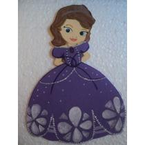 Princesas Disney 20 Cm Cuerpo Entero En Goma Eva