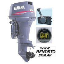 Motores Yamaha 90hp 2t Full Arr Power Inyección - Renosto