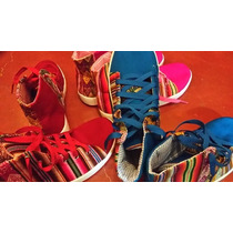 Zapatillas Botitas Aguayo Andinas Forradas Rellenas Talles