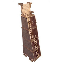 Castillo Medieval Armas Antiguas Torre De Asalto Fibrofacil