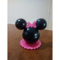 Souvenirs Con Minnie Y Mickey En Porcelana Fria