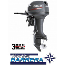 Motor Yamaha 40 Hp. Arranque Manual. P-c. Entrega Inmediata