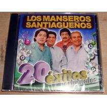 Los Manseros Santiagueños 20 Exitos Originales Cd Sellado