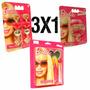 Maquillaje Barbie X 3 Blister Aro Pulsera Labial Lelab