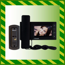 Videoportero Electrico Visor Lcd Camara Oculta Antivandalico