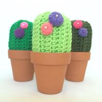 Cactus Tejido A Crochet
