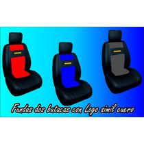 Fundas Dos Butacas Deportivas Para Camion Con Logo