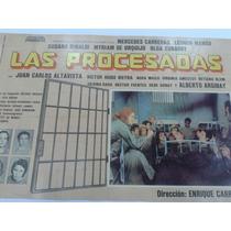 Afiche De La Película Las Procesadas Año 1975