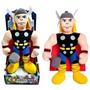 Thor Peluche 34 Cm Original Marvel Super Hero Squad Avengers