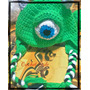 Gorro Mike Wazowski 3d Con Orejeras 100% Artesanal. Crochet